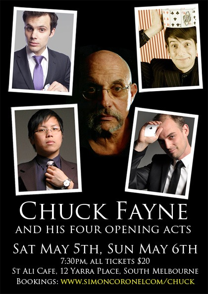 Chuck Fayne and His Four Opening Acts
